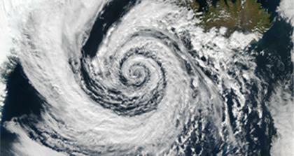台風の強い風にも安心